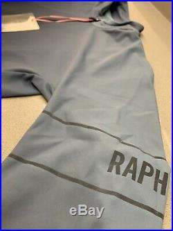 Rapha Long Sleeve Thermal Jersey Colourburn Small Grey Blue Navy New With Tag