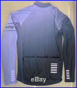 Rapha Long Sleeve Thermal Jersey Colourburn XXLarge Blue Navy Brand New With Tag