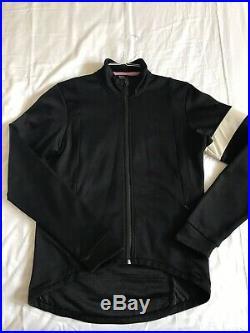 Rapha Long Sleeve Wind-block Training Cycling Jersey Black Size Large RRP £220