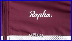 Rapha Long Sleeve Windblock Jersey Rich Burgundy BNWT Size L