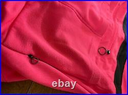 Rapha Long Sleeve Wool Blend Brevet Jersey, High Viz Pink, Men's Medium
