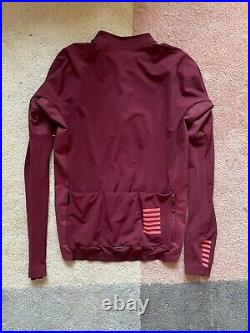 Rapha MEN'S PRO TEAM LONG SLEEVE THERMAL JERSEY Large Red