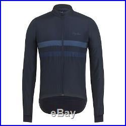 Rapha Men's Cycling Jersey Brevet Windblock XS S M L Long Sleeve Navy RCC NEW