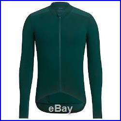 Rapha Men's Cycling Jersey Long Sleeve Aero XS S M L Pro Team RCC Green RACE NEW