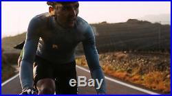 Rapha Men's Cycling Jersey Long Sleeve Aero XS S M L Pro Team RCC Grey Blue NEW