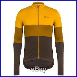 Rapha Men's Cycling Jersey Long Sleeve TriColour Medium M XL RCC Merino Wool NEW