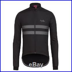 Rapha Men's Cycling Jersey S L XL Brevet Long Sleeve Windblock Black New RCC