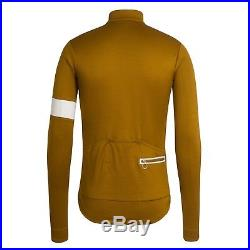 Rapha Men's Cycling Jersey XL Classic Long Sleeve II Old Gold RCC NEW