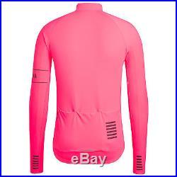 Rapha Men's Cycling Jersey XS S M XL Pro Team Long Sleeve Thermal Pink RCC NEW