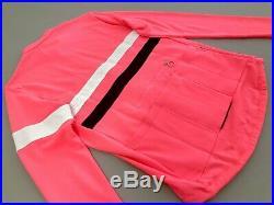 Rapha Men's Long Sleeve Brevet Jersey Size Large High Vis Pink