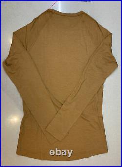 Rapha Men's Merino Base Layer Long Sleeve Brown Medium Brand New With Tag