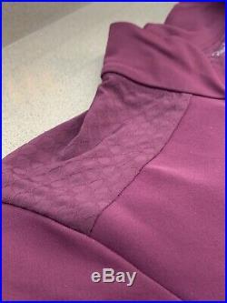 Rapha Men's Pro Team Long Sleeve Aero Jersey Medium Plum New With Tag