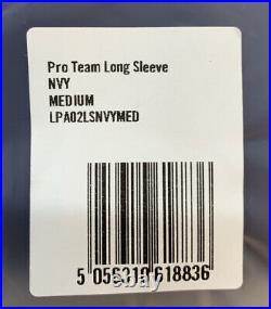 Rapha Men's Pro Team Long Sleeve Aero Jersey Navy Size Medium New With Tag
