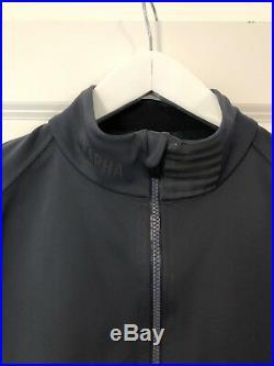 Rapha Men's Pro Team Softshell Long Sleeve Cycling Jacket Dark grey size large