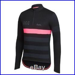 Rapha Mens 1/4 Zipper Long Sleeve RCC Training Jersey Size XL