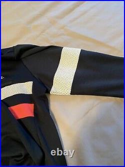 Rapha Mens Long Sleeve Brevet Jersey Navy Large