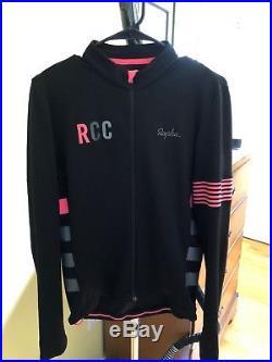 Rapha Mens Long Sleeve RCC Jersey Merino blend Large