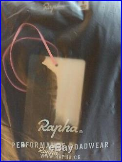 Rapha Merino Long Sleeve Polo Dark Navy BNWT Size S