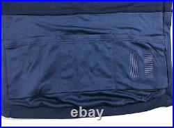 Rapha Merino long sleeve Tricolour Jersey XXL blue Winter cycling A++++ Shape