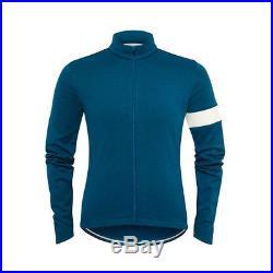 Rapha Moroccan Blue Long Sleeve Jersey. Size XL. BNWT