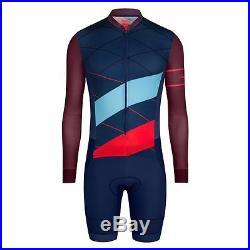 Rapha Navy Cross Long Sleeve Aerosuit. Size XXL. BNWT