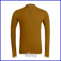 Rapha Old Gold Long Sleeve Merino Jersey. Size XS. BNWT