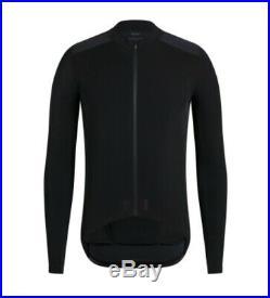 Rapha PRO TEAM Aero Jersey Black Long Sleeve BNWT Size L
