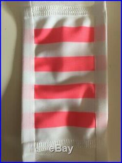Rapha PRO TEAM Lightweight Bib Black/Hi-Viz Pink BNWT Size L / Long
