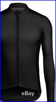 Rapha PRO TEAM Long Sleeve Aero Jersey Black BNWT Size L