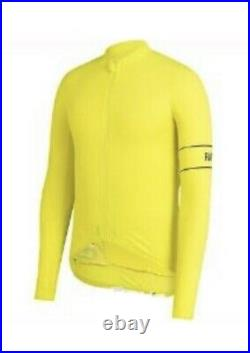 Rapha PRO TEAM Long Sleeve Thermal Jersey Chartreuse BNWT Size L