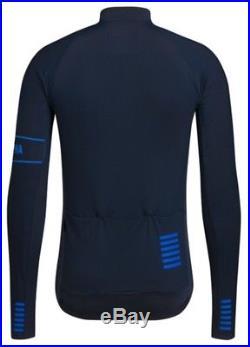 Rapha PRO TEAM Long Sleeve Thermal Jersey Dark Navy BNWT Size M