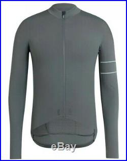 Rapha PRO TEAM Long Sleeve Thermal Jersey Green Grey BNWT Size M