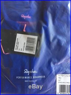 Rapha PRO TEAM Long Sleeve Thermal Jersey Ultramarine BNWT Size M