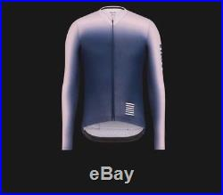 Rapha Pink/Navy Pro Team Aero Colourburn Long Sleeve Jersey. Size XXL. BNWT