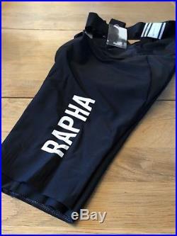 Rapha Pro Team Aero Bib Shorts Small Long