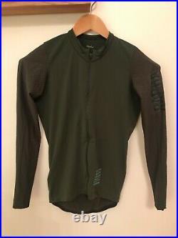 Rapha Pro Team Aero Long Sleeve Jersey Olive Dark Green Worn once Medium
