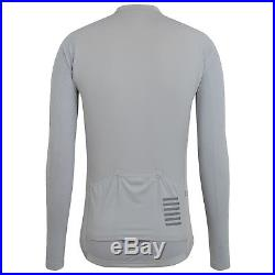 Rapha Pro Team Aero long sleeve jersey Grey LARGE New with Tags