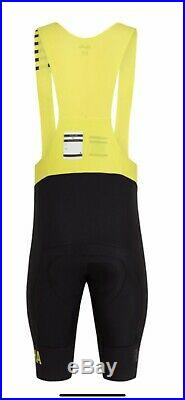Rapha Pro Team Bibshort II Long Medium Size Black/yellow New C Tag