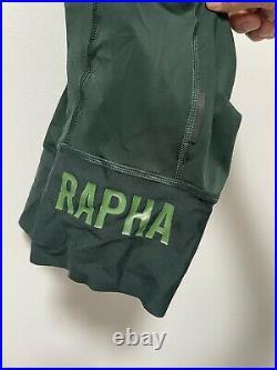 Rapha Pro Team Bibshorts Green Small Long