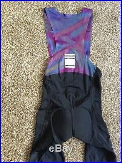 Rapha Pro Team Crit Collection Limited Edition Long Cycling Bib Shorts Sz Medium