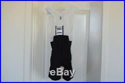 Rapha Pro Team Lightweight Bib Shorts Long Men's Medium Black / White