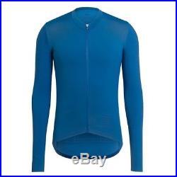 Rapha Pro Team Long Sleeve Aero Cycling Jersey Blue Size Large BNWT
