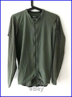 Rapha Pro Team Long Sleeve Aero Jersey Green X-Large