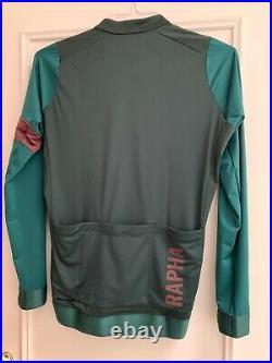 Rapha Pro Team Long Sleeve Jersey AW20/21 NWT Green
