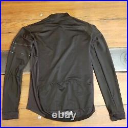 Rapha Pro Team Long Sleeve Jersey Black Medium M Mens