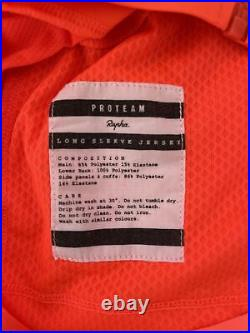 Rapha Pro Team Long Sleeve Jersey Coral Large