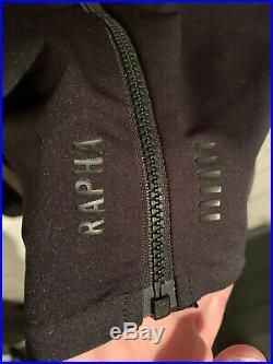 Rapha Pro Team Long Sleeve Midweight Jersey Black MEDIUM