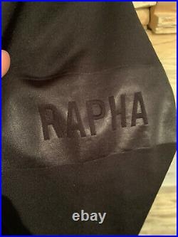 Rapha Pro Team Long Sleeve Midweight Jersey Black Size SMALL