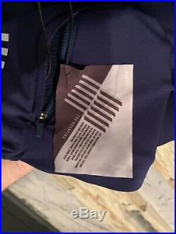 Rapha Pro Team Long Sleeve Midweight Jersey Navy MEDIUM