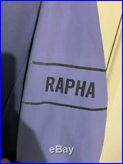 Rapha Pro Team Long Sleeve Thermal Jersey Colourburn, Medium Navy Blue